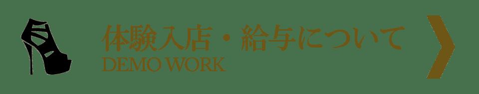 体験入店・給与について|DEMO WORK|銀座のクラブ・ホステス求人情報
